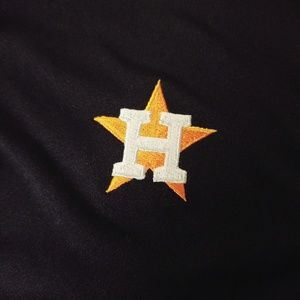 Houston Astros Dry Fit Polo sz M